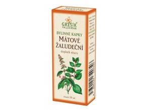 Grešík Bylinné kapky Mátové žaludeční kapky 50 ml