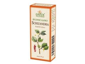 Grešík Bylinné kapky Schizandra kapky 50 ml