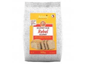 bezlepkovy chleb rebel celozrnny