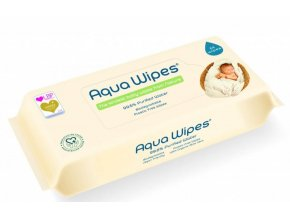 aqua wipes eko detske vlhcene ubrousky 64 ks 1471501020201109105529