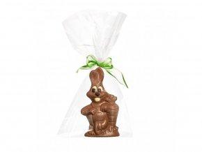 915 2 cokoladovy zajic velikonoce figurka cokolada cokoladovna janek