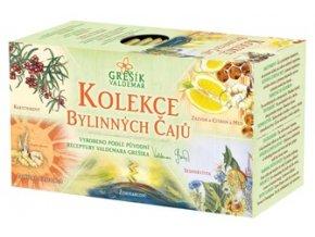 Kolekce bylinných čajů