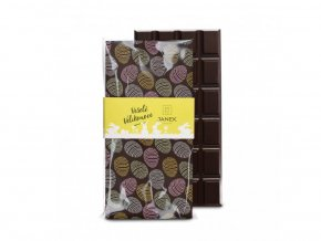 479 tabulka horke cokolady 64 procent s jedlym velikonocnim potiskem cokoladovna janek