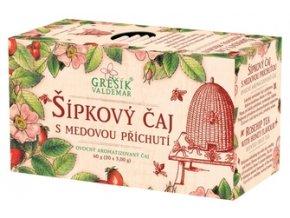 GREŠÍK Šípkový s medem Ovocný čaj 20 n.s.