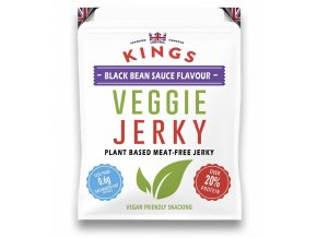 kings veggie jerky black bean 25 g (1)