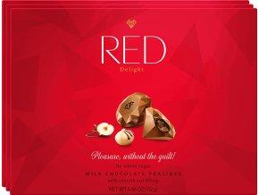 RED Pralines Nut Filling 132g
