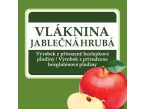 vlaknina jablecna hruba