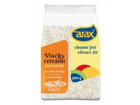 ARAX Rýžové vločky instantní 300g 3Dv2