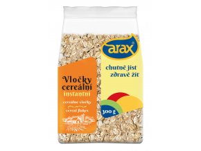 ARAX Žitné vločky instantní 300g 3Dv2