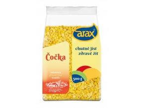 ARAX Čočka žlutá půlená 500g 3Dv2