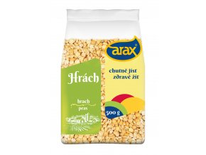 ARAX Hrách žlutý půlený 500g 3Dv1