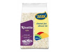 ARAX Rýže risotto Arborio 500g 3Dv2