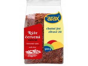 ARAX Rýže červená natural 500g 3Dv2