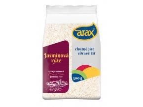 ARAX Rýže jasmínová dlouhozrnná 500g 3Dv2
