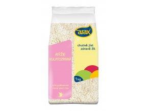 ARAX Rýže kulatozrnná loupaná 1kg 3Dv1