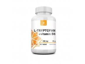 allnature l tryptofan vitamin b6 200 mg 60 tbl