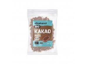 allnature kakaovy prasek bio raw 100 g