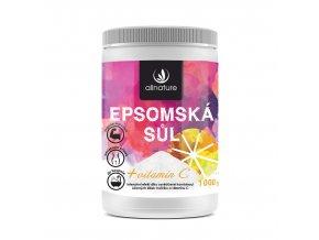 allnature epsomska sul vitamin c 1000 g