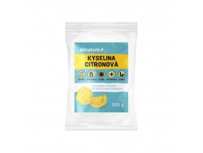 allnature kyselina citronova 500 g