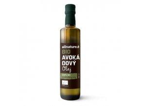 allnature avokadovy olej bio 250 ml