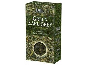 GREŠÍK Green Earl Grey z.č. 70 g krab. Čaje 4 světadílů