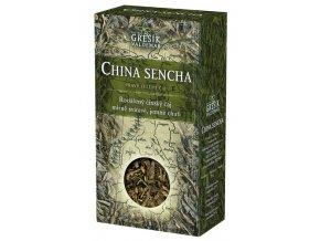 GREŠÍK China Sencha z.č. Čaje 4 světadílů krab. 70 g