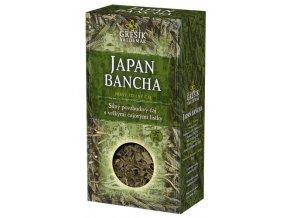 GREŠÍK Japan Bancha z.č. Čaje 4 světadílů krab.  70 g