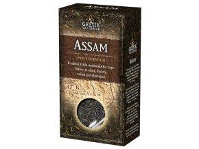 GREŠÍK Assam č.č. 70 g krab. Čaje 4 světadílů