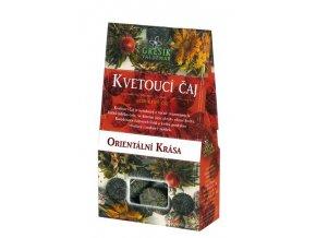 GREŠÍK Kvetoucí čaj Orientální krása 4 ks krab. Čaje 4 světadílů