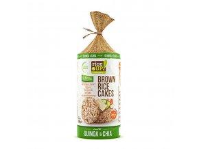 40507 Rýžové chlebíčky s chia quinoa 120g