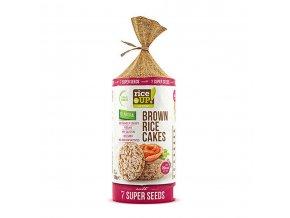 40509 Rýžové chlebíčky se 7 druhy semen 120g
