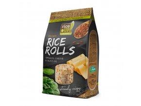 40516 Rýžové minichlebíčky špenát sýr 50g