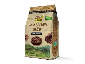 40578 Rýžové minichlebíčky s hořkou čokoládou 50g