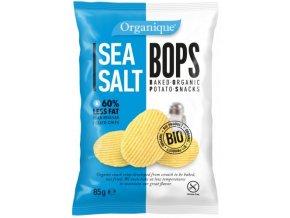 McLLOYDS Chips Bops mořská sůl 85g