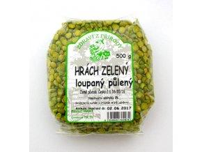 hrach zeleny puleny 500g zp 01