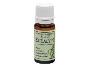 GREŠÍK Rostlinné silice Eukalypt přírodní 10 ml