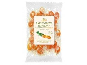 GREŠÍK Rakytníkové bonbóny s vitamínem C se sladidlem 100 g
