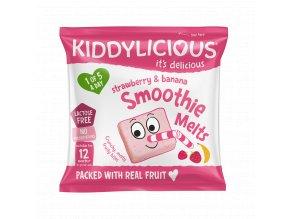 UK SMOOTHIE MELTS Strawberry SingleBag6g viz
