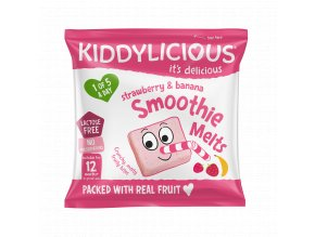 UK SMOOTHIE MELTS Strawberry SingleBag6g viz