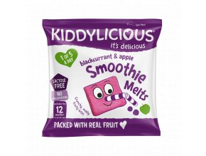UK SMOOTHIE MELTS Blackcurrant SingleBag6g viz
