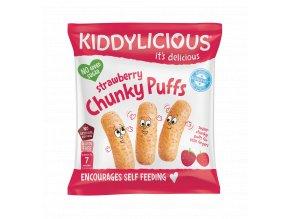 UK CHUNKY PUFFS Strawberry SingleBag10g viz