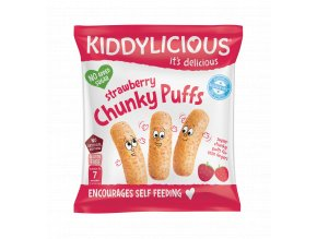UK CHUNKY PUFFS Strawberry SingleBag10g viz