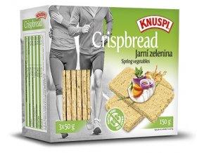 Extrudo Knuspi křehký chléb jarní zelenina 150 g
