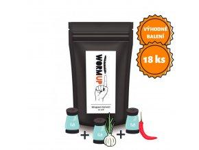 NUTSMAN Balíček WORM-UP Křupaví červíci MIX MAXI balík 18ks