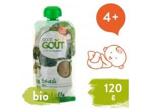Good Gout BIO Brokolicové pyré 120 g