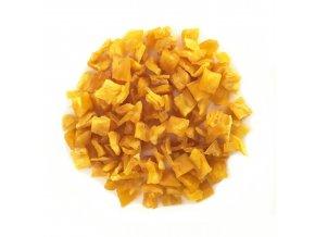 Ananas kostka bez cukru a SO2