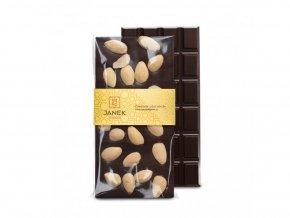 95 1 tabulka horke cokolady 64 procent s mandlemi cokoladovna janek jpg