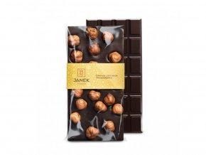 206 tabulka horke cokolady 64 procent s liskovymi orechy cokoladovna janek jpg