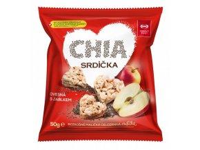 Semix Musli srdíčka jablko a chia 50g