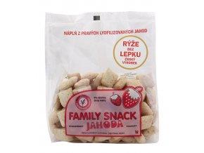 Family snack JAHODA sáček 165g